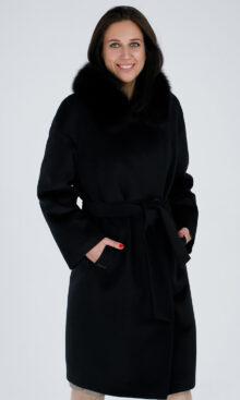 Пальто женское зимнее из 100% шерсти 1