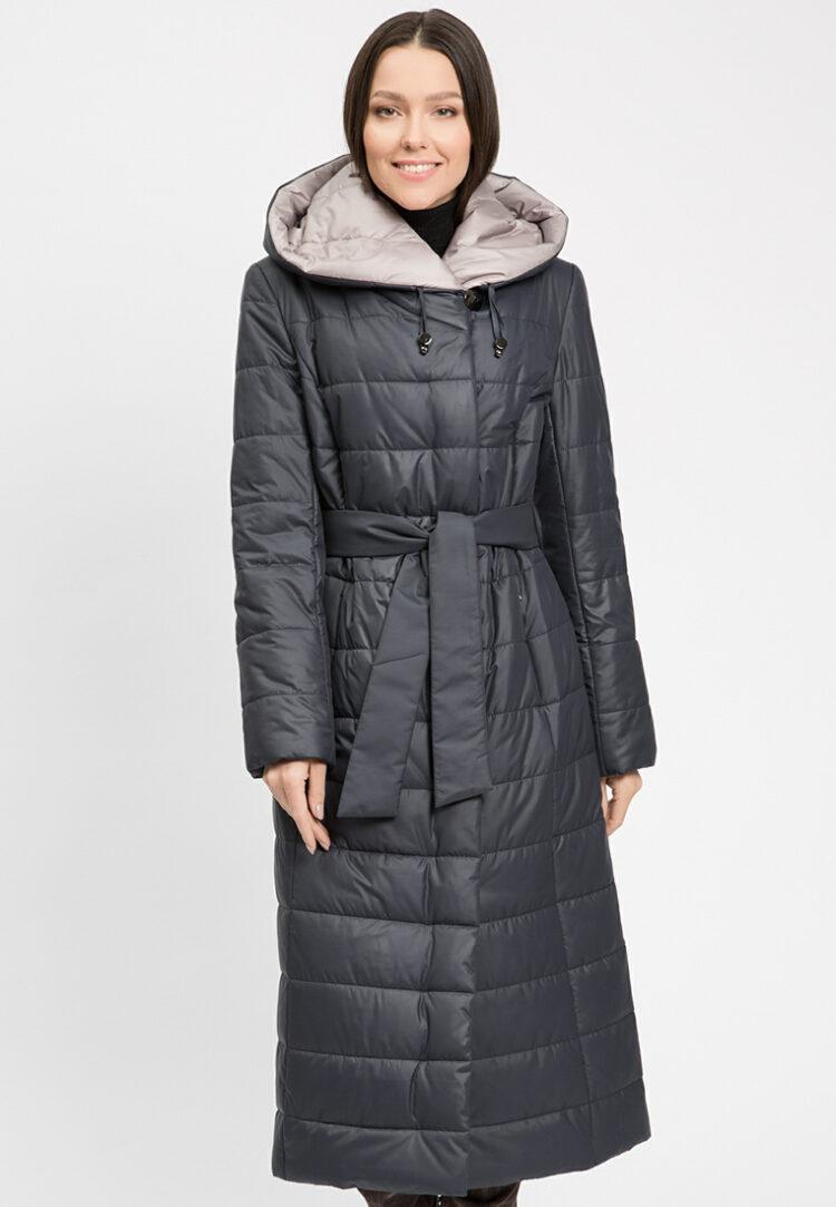 Утепленное женское пальто