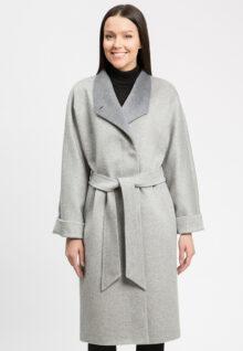 Пальто женское осеннее из 100% шерсти 1